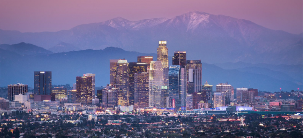 Los Angeles Skyline image